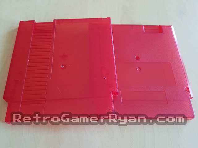 NES Cartridge Shells (Transparent Red)